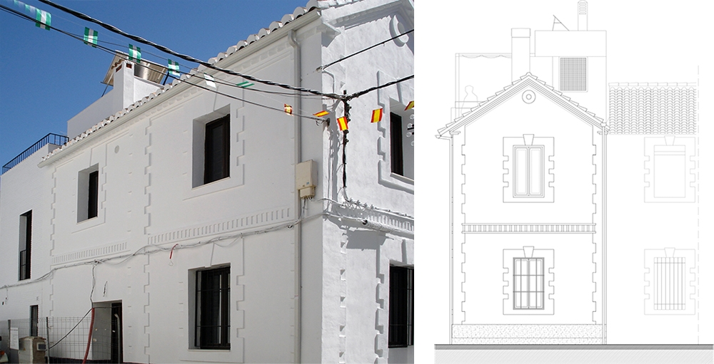 Project for renovation and extension